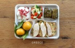 A typical Greek school lunch