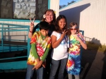Sixth graders get groovy on 60s day. Photo by Joni Reynolds.