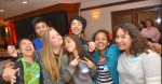 Christina Aguilar, Rowan Esquer, Kristina Galvin, Azameet Gebremariam, Zakary Kong, Ethan Muon and Ryan Ong were eighth graders who volunteered to man the registration table at the Crab Feed.